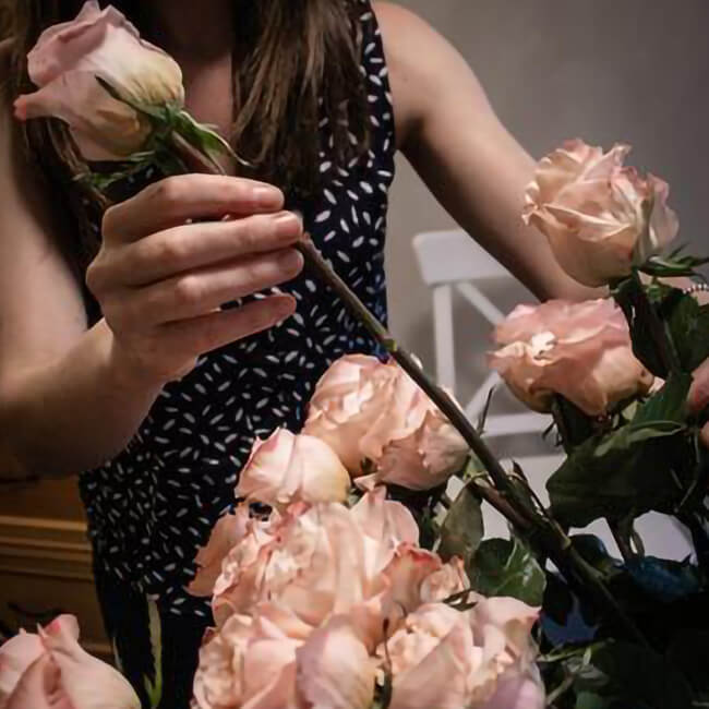 Unpacking Your Flowers