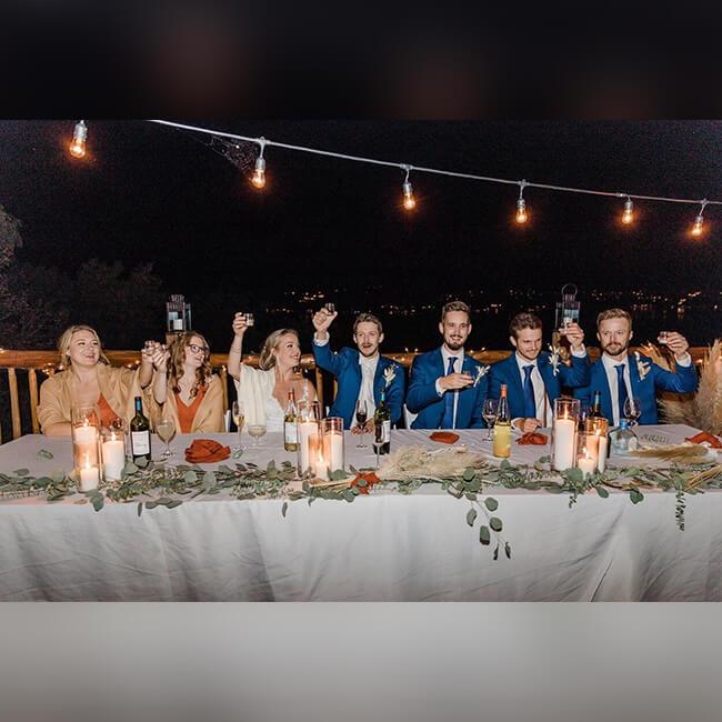 bridal reception