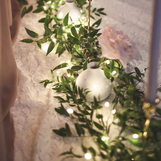 DIY Ruscus Garland Flower Delivery Vancouver