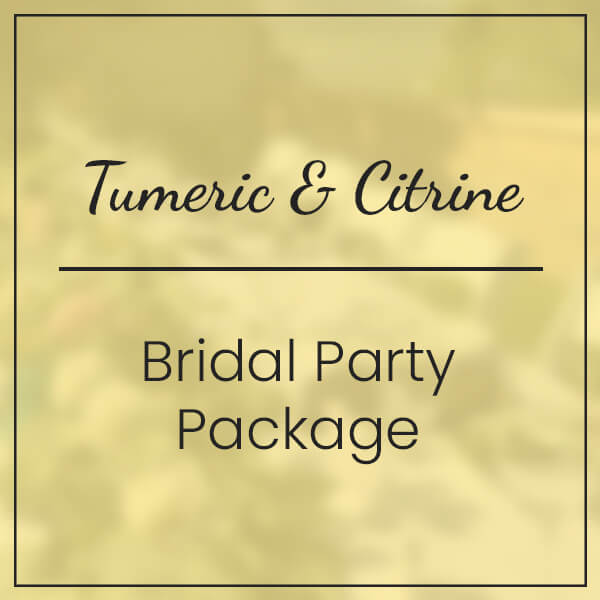 Tumeric & Citrine Bridal Party Package