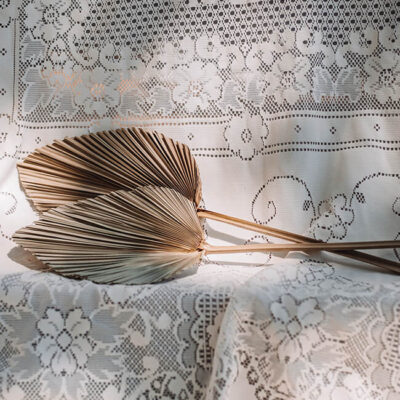 Dried Large Palm Spear Flower Delivery