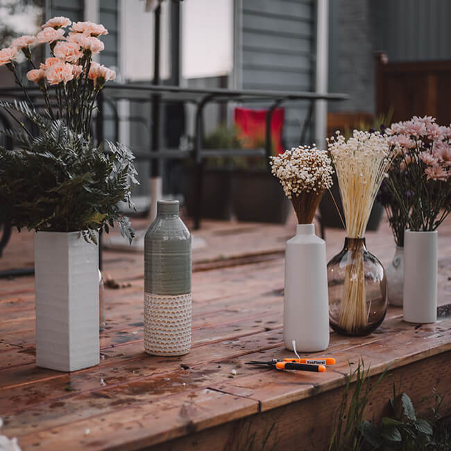 DIY Tips – Storing Your Flowers